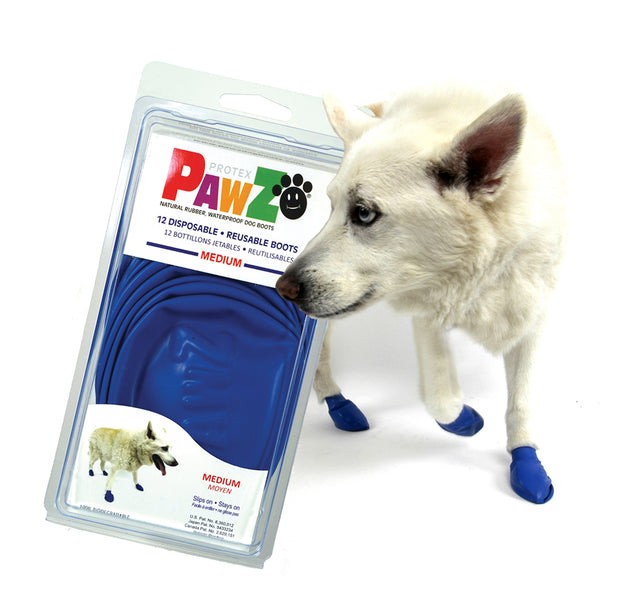 Medium Rubber Dog Boots - disposable, reusable & waterproof. - Yap Wear Store Albert Park | Pet Boutique