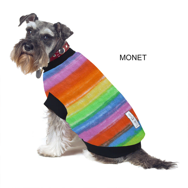 Dog Skivvy -  Monet: polar fleece: made in Australia