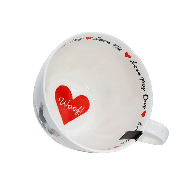 Love My Dog - tea or coffee Mug - Yap Wear Store Albert Park | Pet Boutique