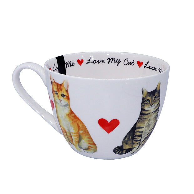 Love My Cat - tea or coffee Mug - Yap Wear Store Albert Park | Pet Boutique