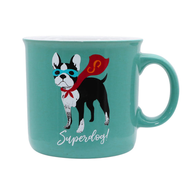 Superdog! - Boston Terrier Mug - Yap Wear Store Albert Park | Pet Boutique