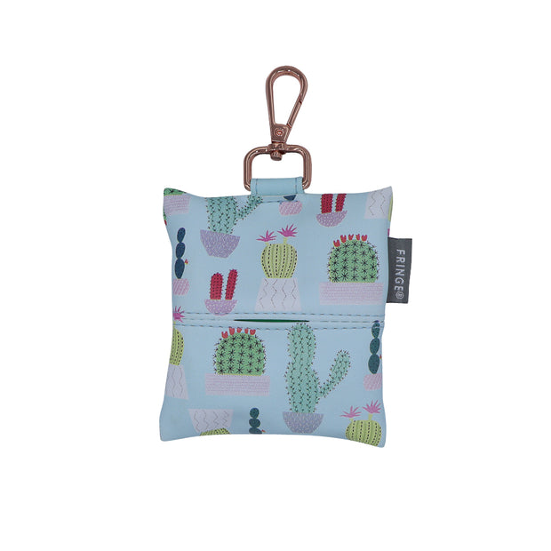 Doggie waste bag holder - Cactus print - Yap Wear Store Albert Park | Pet Boutique