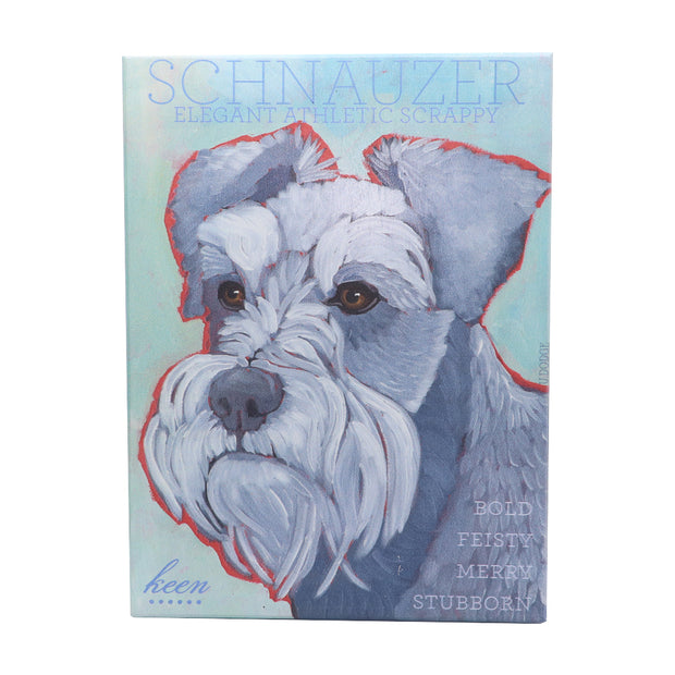 Schnauzer print by US Artist Ursula Dodge. - Yap Wear Store Albert Park | Pet Boutique