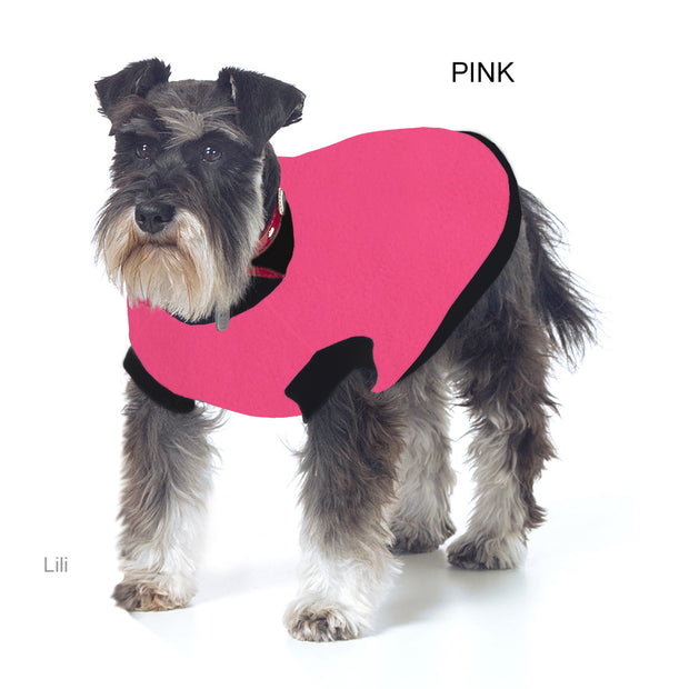 Dog Skivvy - Plain anti-pill polar fleece:  made in Australia