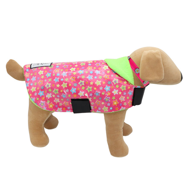 Star Raincoat Dogcoat - waterproof - Yap Wear Store Albert Park | Pet Boutique
