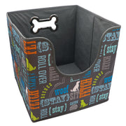 Dog's toy basket - collapsable
