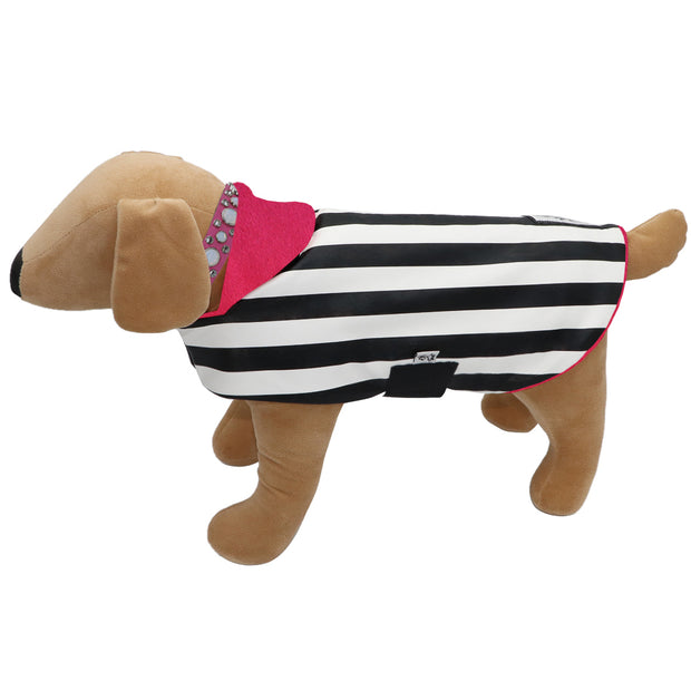Stripe Dogcoat - waterproof - Yap Wear Store Albert Park | Pet Boutique