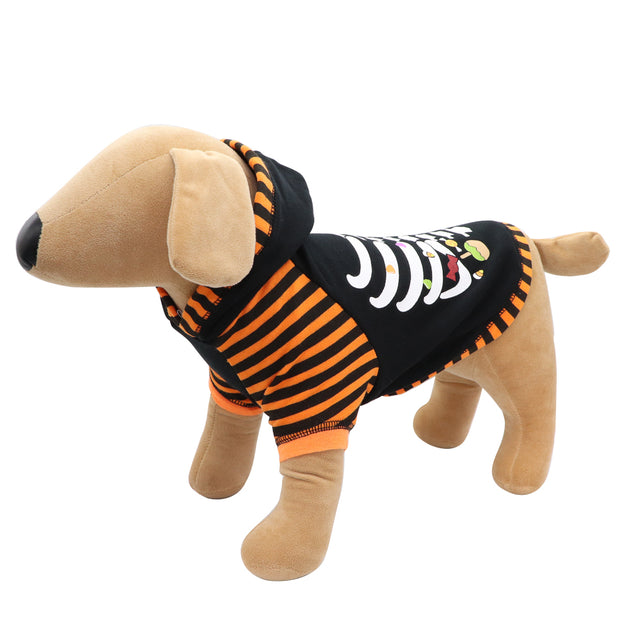 HOWL-O-WEEN 'Boo and skeleton' sweat - Yap Wear Store Albert Park | Pet Boutique
