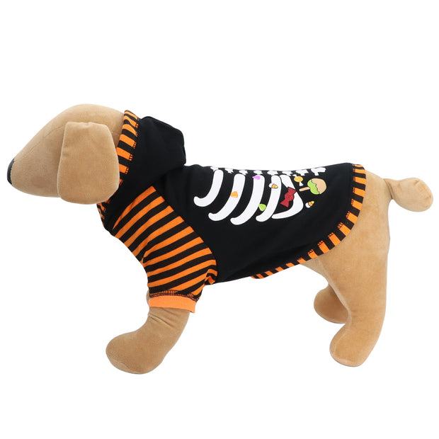 HOWL-O-WEEN 'Boo and skeleton' sweat