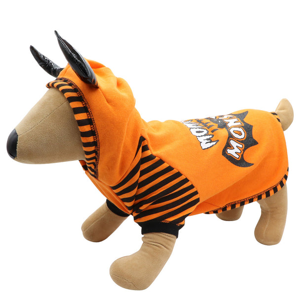 HOWL-O-WEEN 'Mommy's Little MONSTER' sweat - Yap Wear Store Albert Park | Pet Boutique