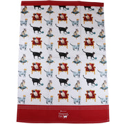 Pampered Cats - Tea towel