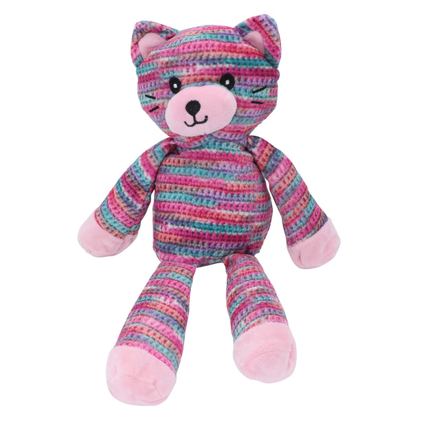 Rainbow Kitty - Soft toy for dogs