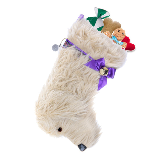 XMAS Cavoodle Stocking - Yap Wear Store Albert Park | Pet Boutique