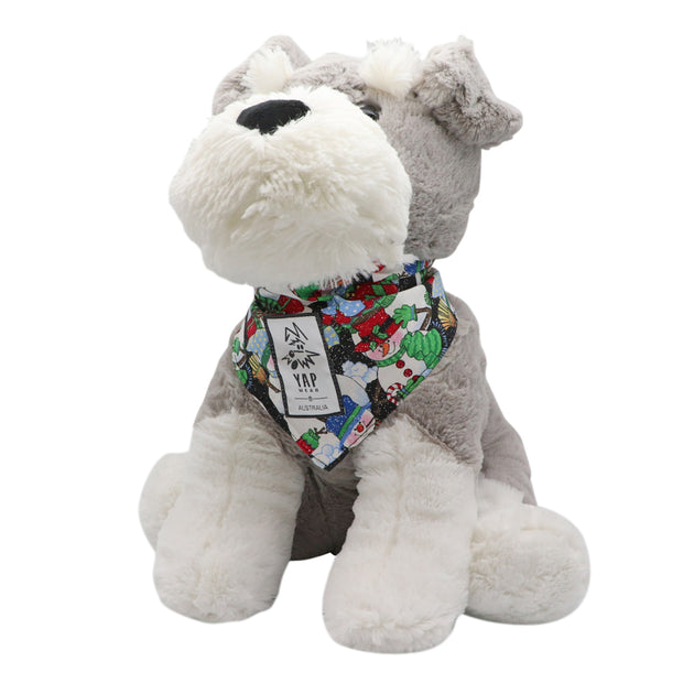 YAPPY Xmas Bandana - Snowmen - Yap Wear Store Albert Park | Pet Boutique