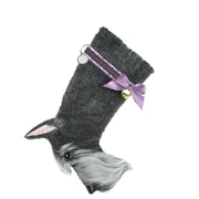 XMAS Schnauzer Stocking - Yap Wear Store Albert Park | Pet Boutique