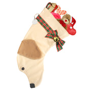 XMAS Labrador stocking - Yellow - Yap Wear Store Albert Park | Pet Boutique