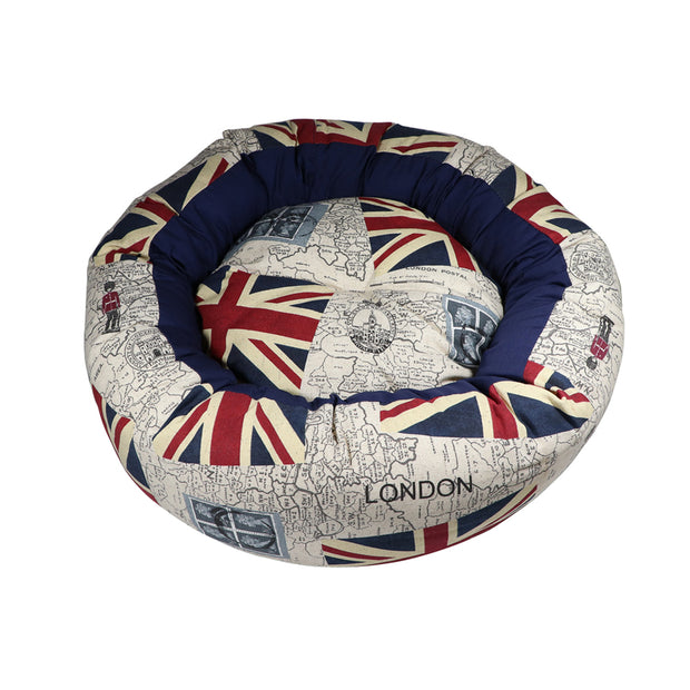 Union Jack bagel bed - Yap Wear Store Albert Park | Pet Boutique