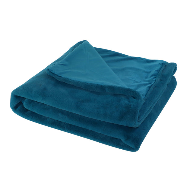 Plush Blanket  - Turquoise - Yap Wear Store Albert Park | Pet Boutique