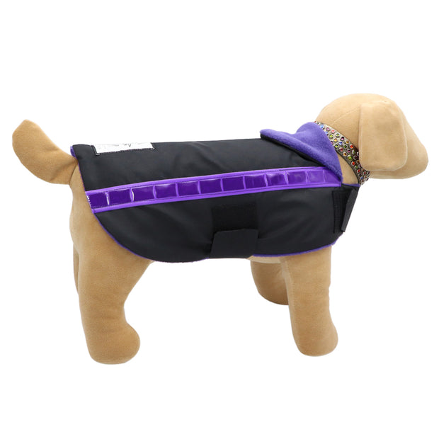 Slicker Stripe Dogcoat - waterproof