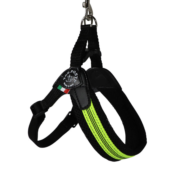Dog Harness - Sicilian Lime: Made in Italy - Yap Wear Store Albert Park | Pet Boutique