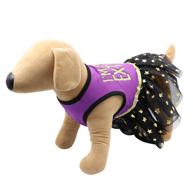 HOWL-O-WEEN 'I'm so extra' party dress - Yap Wear Store Albert Park | Pet Boutique