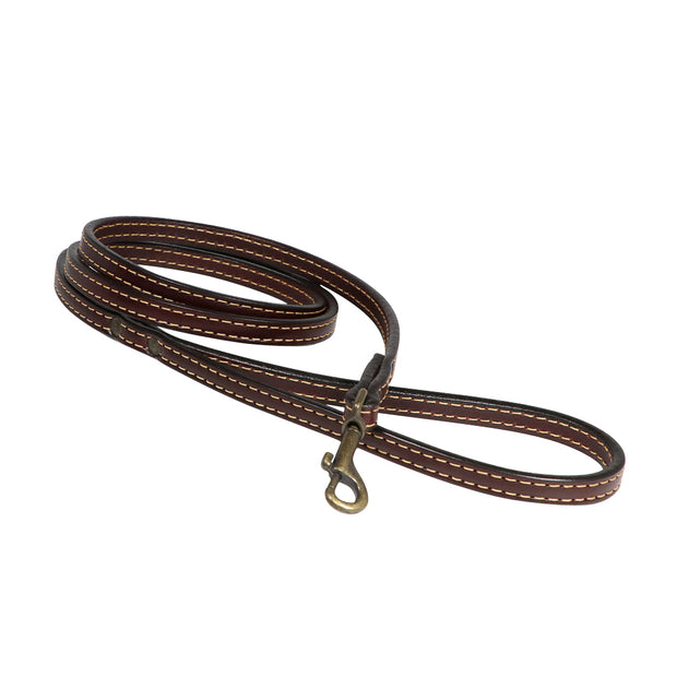 Leather dog leash - Nevada narrow - Yap Wear Store Albert Park | Pet Boutique