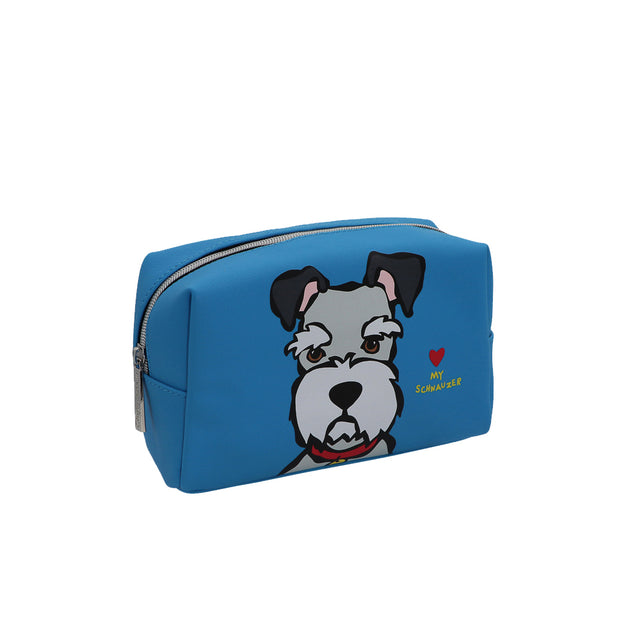 Marc Tetro - Schnauzer make-up bag - Yap Wear Store Albert Park | Pet Boutique
