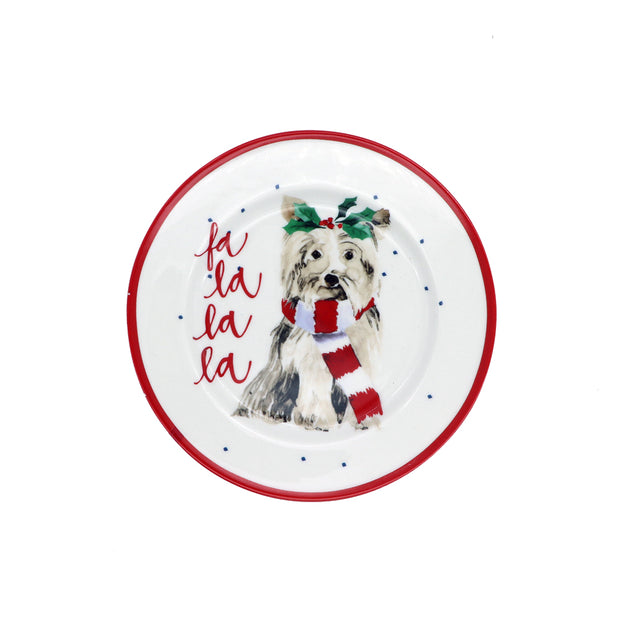 Small porcelain plate - La la la la - Yap Wear Store Albert Park | Pet Boutique