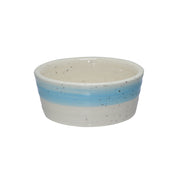 Ceramic Pet Bowl with Paw print motif