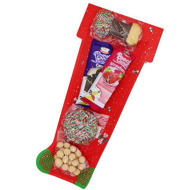 Dog's Christmas stocking - treats