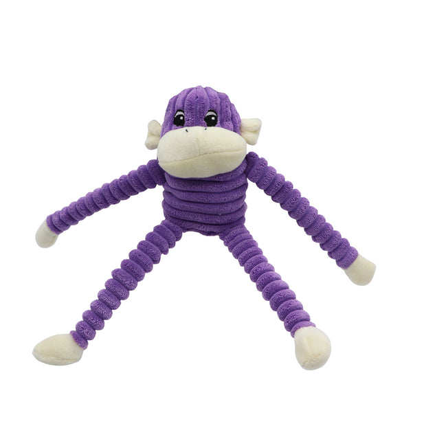 Crinkle Monkey - squeaky toy for dogs - Yap Wear Store Albert Park | Pet Boutique