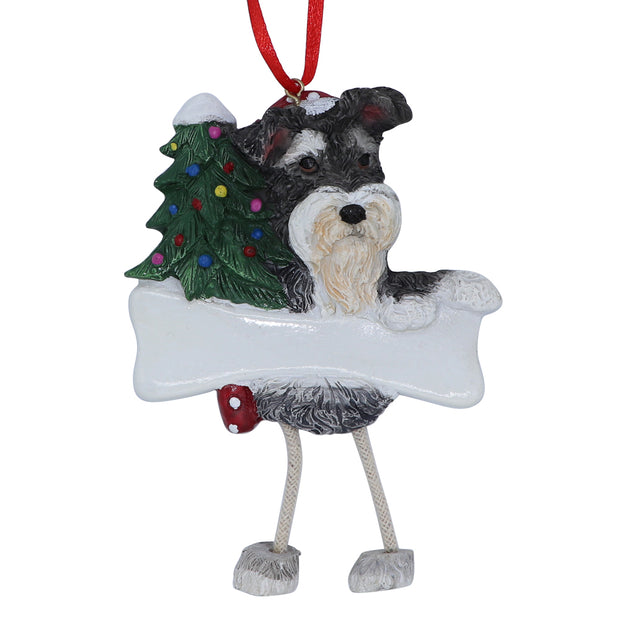 Schnauzer Christmas Tree Ornament