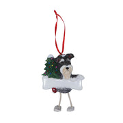 Schnauzer Christmas Tree Ornament - Yap Wear Store Albert Park | Pet Boutique
