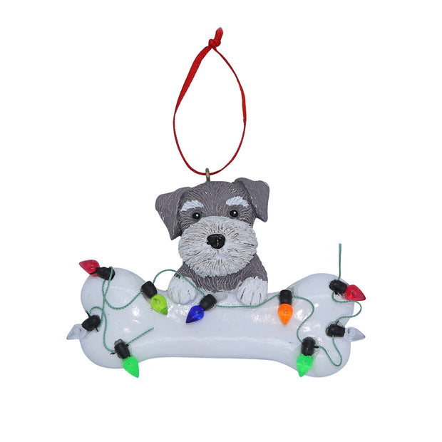 Schnauzer - Christmas tree ornament - Yap Wear Store Albert Park | Pet Boutique