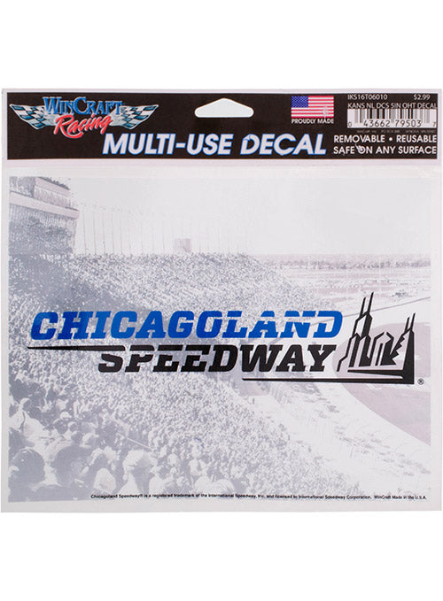 Chicagoland Speedway Reusable Decal