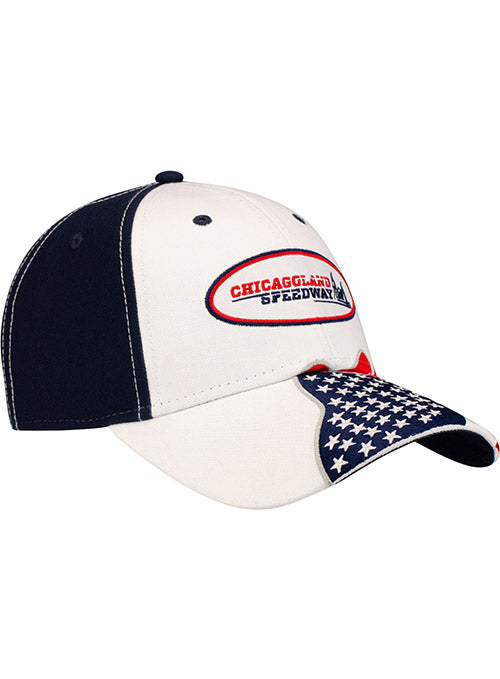 Chicagoland Speedway American Flag Hat