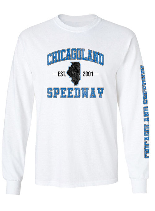 Chicagoland Speedway Long Sleeve T-Shirt