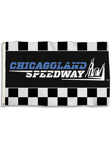 Chicagoland Speedway Patriotic Can Cooler