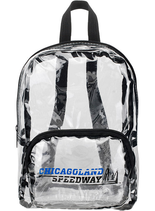 Chicagoland Speedway MINI Clear Backpack