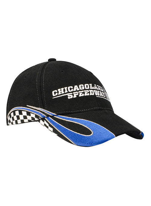 Youth Chicagoland Checkered Flame Hat