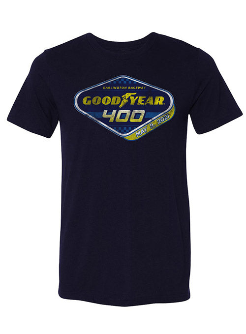 2021 Darlington Goodyear 400 Tee - Navy