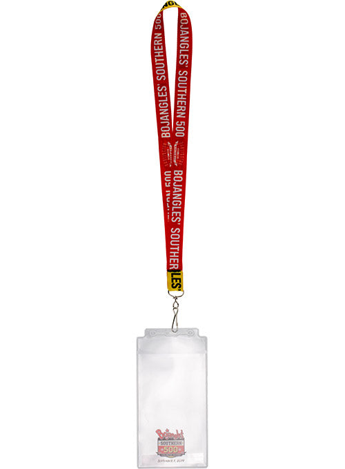 2019 Bojangles' Southern 500 Credential Holder