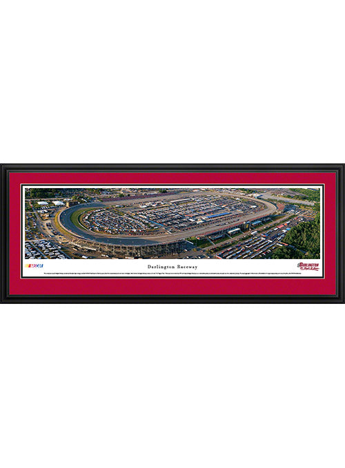 Darlington Raceway Deluxe Frame Panoramic Photo