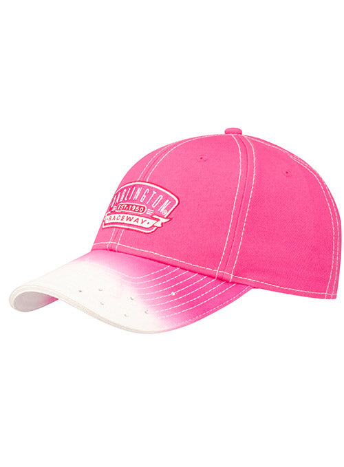 Ladies Darlington Raceway Pink Ombre Rhinestone Hat