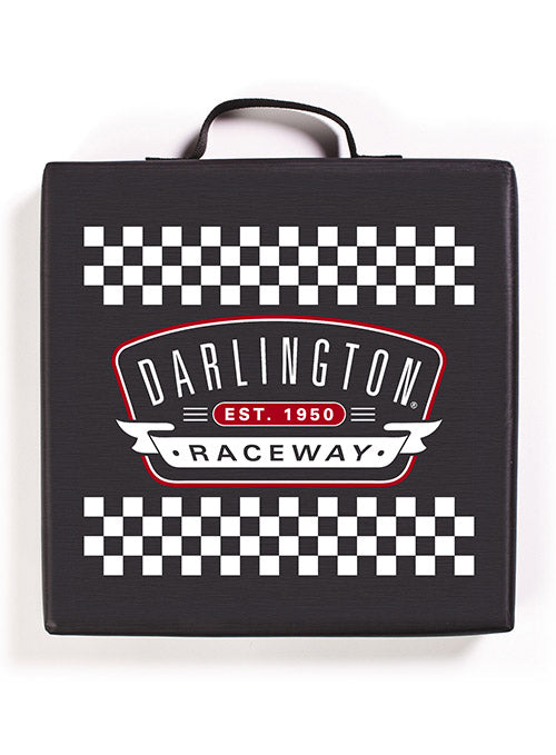 Darlington Raceway Checkered Seat Cushion
