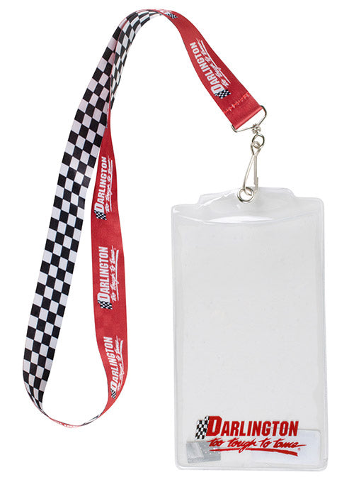 Darlington Raceway Checkered Credential Holder