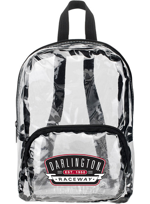 Darlington Raceway MINI Clear Backpack