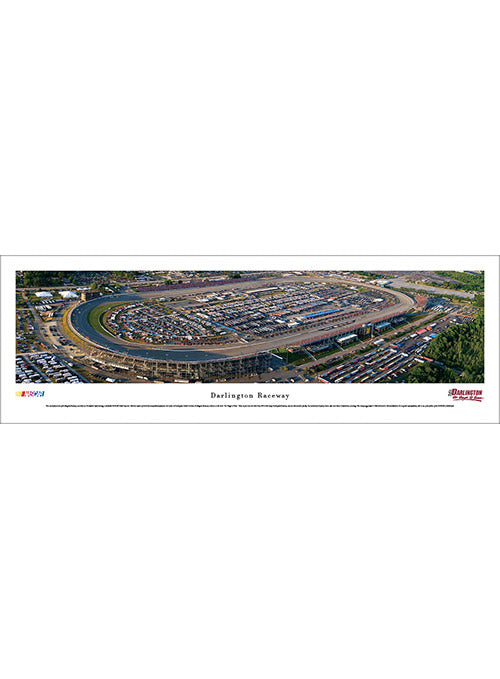 Darlington Raceway Unframed Panoramic Photo