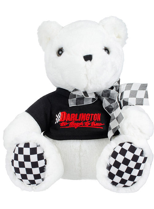 Darlington Raceway Checkered Paw Teddy Bear