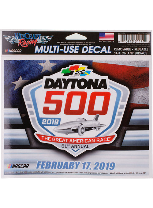2019 Daytona 500 Multi-Use Decal